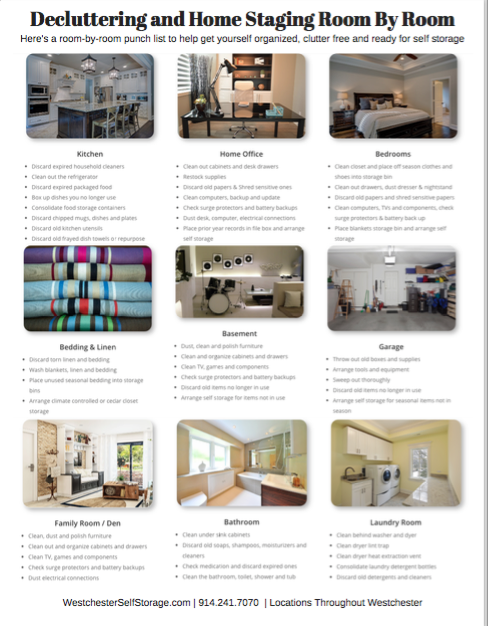 decluttering and staging PDF for download